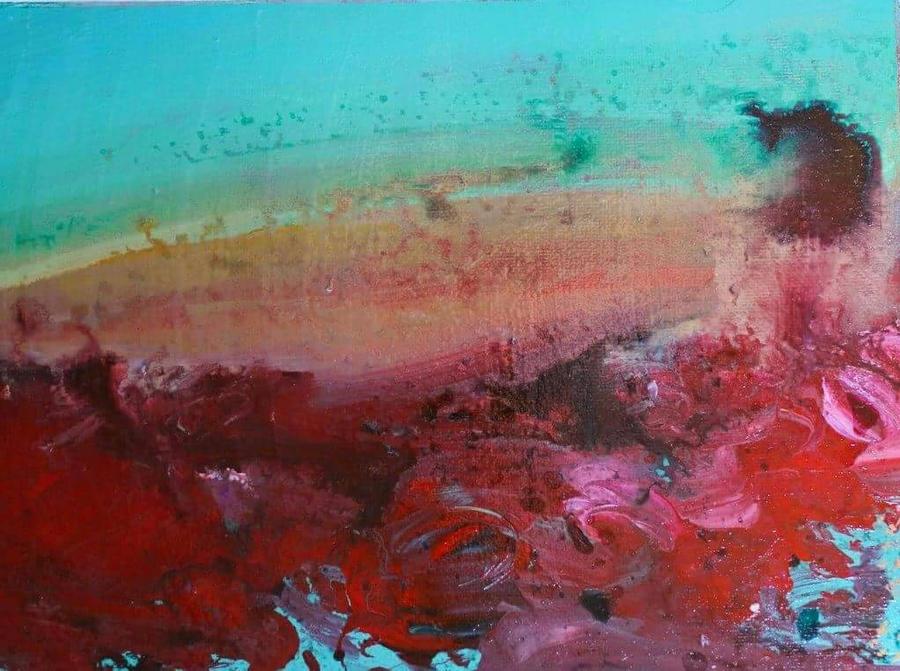 landscape 4 by HeatherHowellArt