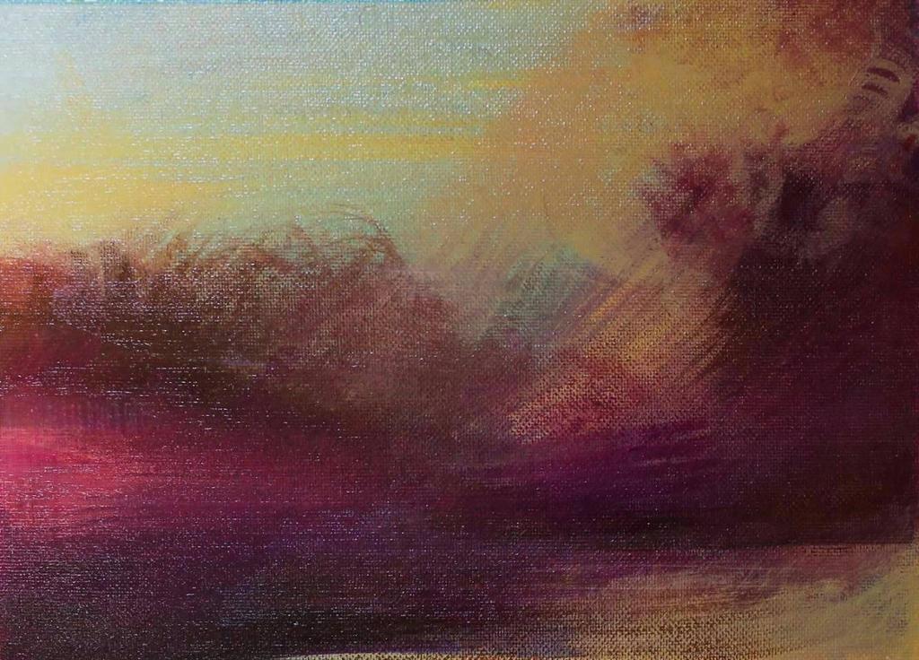 landscape 5 by HeatherHowellArt