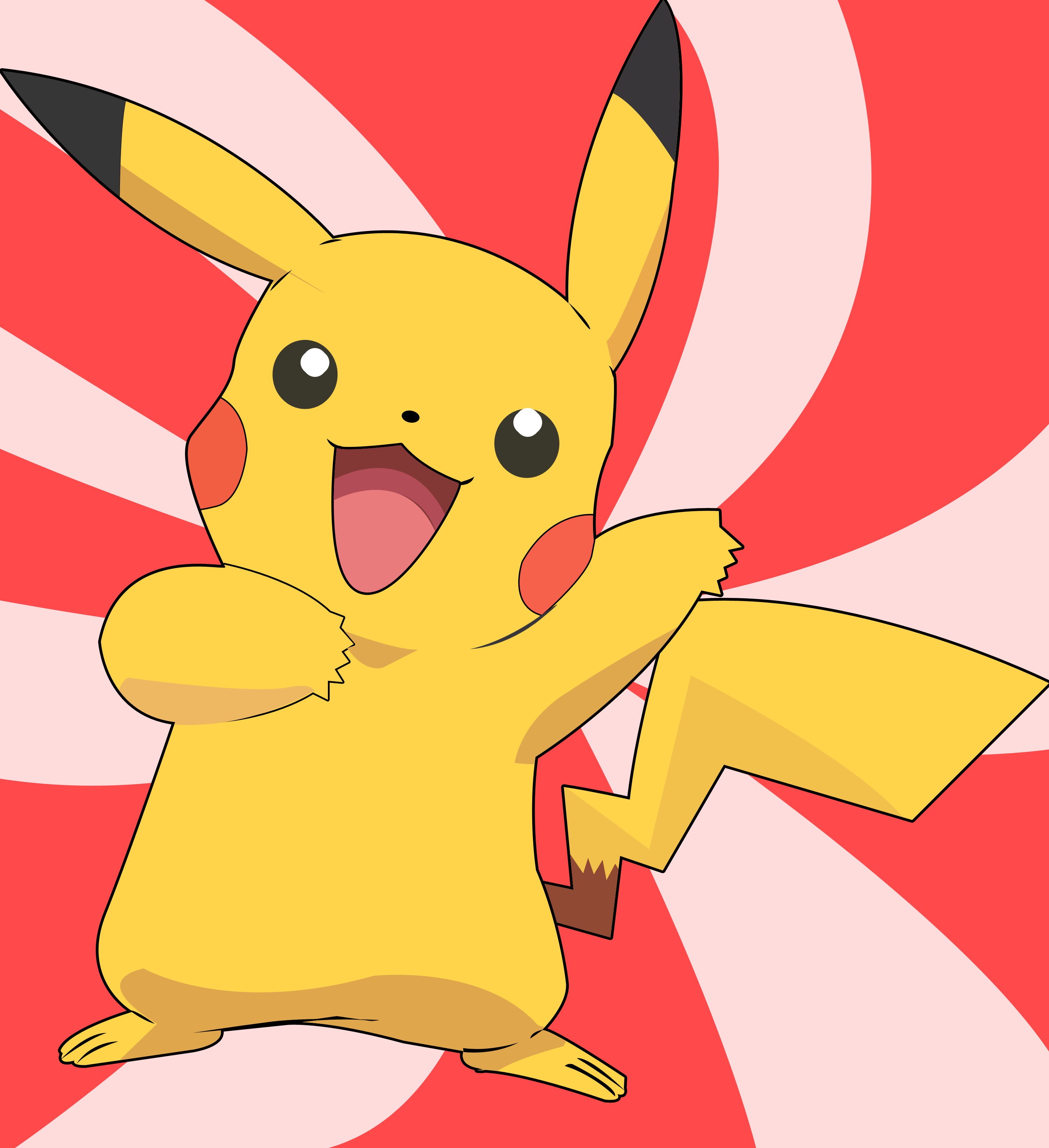 a report on my favorite cartoon character from pokemon pikachu