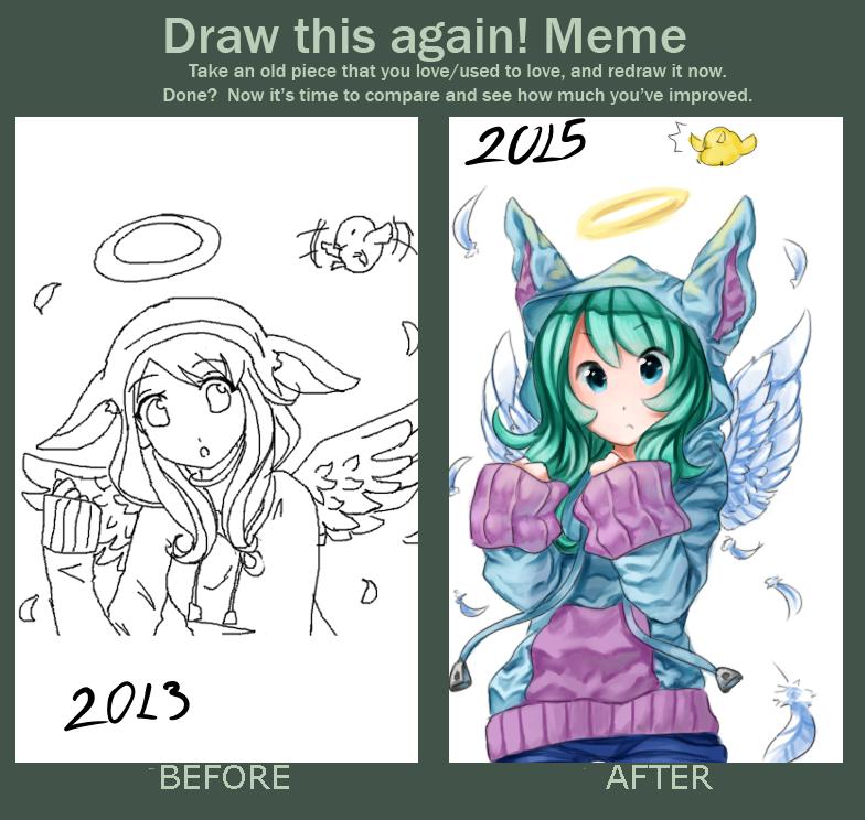 draw this again meme template - draw this again meme by nojida on deviantart