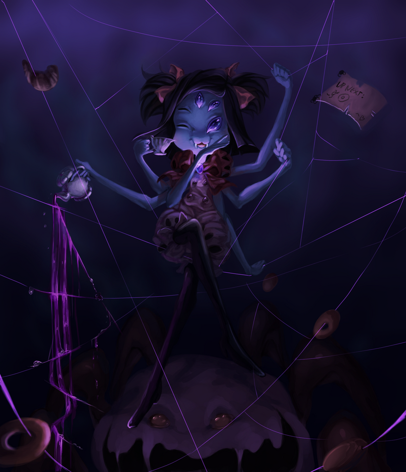 Undertale: Muffet by Nojida