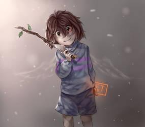 The Angel by Nojida