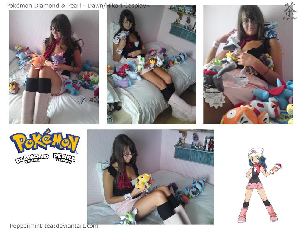 Pokemon Cosplay - Dawn Hikari by Peppermint-Tea