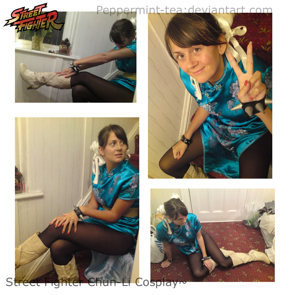 Chun-Li Cosplay Collage by Peppermint-Tea