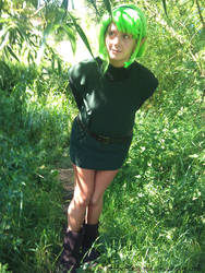 Saria Cosplay - Kokiri Forest by Peppermint-Tea