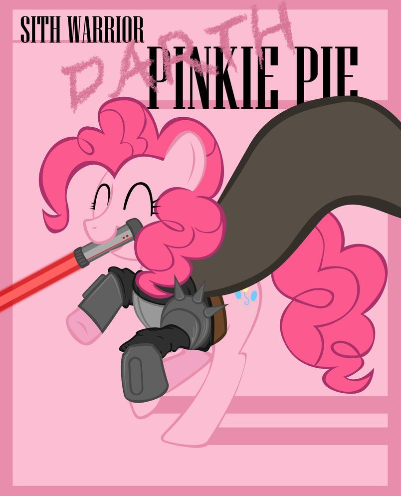Sith Warrior Pinkie Pie by Bouxn