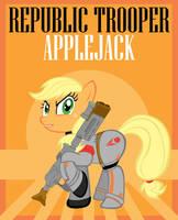 Republic Trooper Applejack by Bouxn