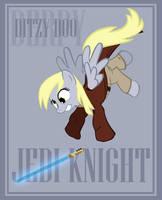 Jedi Knight Derpy by Bouxn