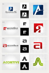 Accritive Logotype by atcreation
