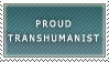 Transhumanist Stamp by Necron-cheese