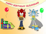 Happy Birthday Susanna