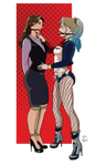 Lois Lane and Harley