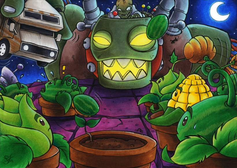 Plants vs Zombies  Dr Zomboss by MerinidDE on DeviantArt