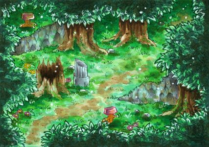 Secret of Mana - The Pure Land - ATC by Merinid-DE