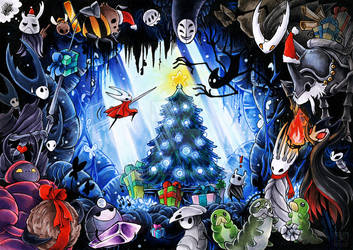 Christmas at Hallownest - Hollow Knight