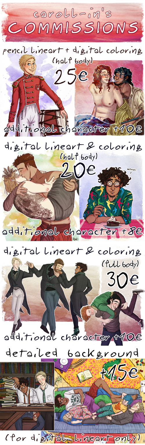 COMMISSIONS INFO by caroll-in