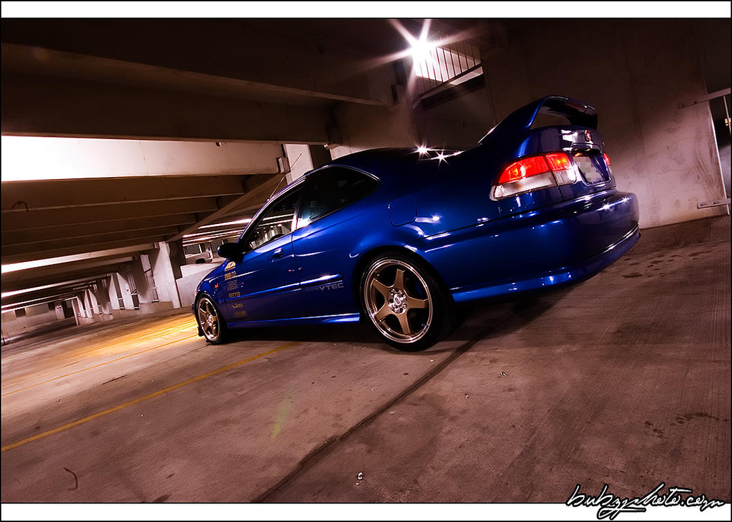1999 Honda Civic SI 1 By Bubzphoto ...