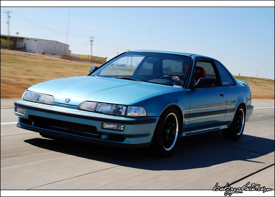 1991 Acura Integra LS by bubzphoto on DeviantArt