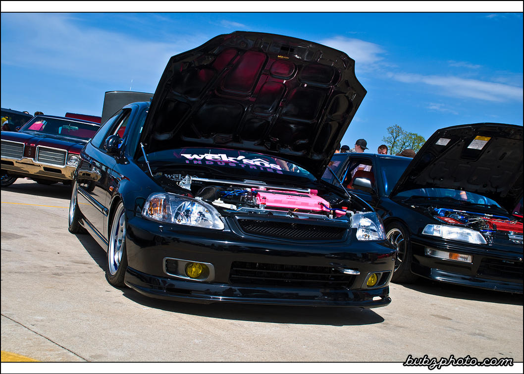 2000 Honda Civic SI EJ8 By Bubzphoto ...