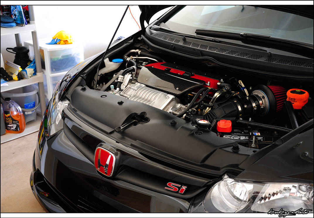 Ct E Supercharger Civic Si By Bubzphoto