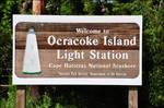 Ocracoke Lighthouse Sign