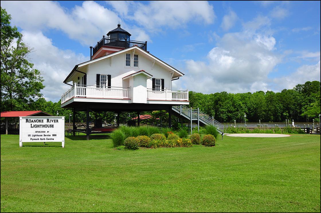 Roanoke River Lighthouse - Replica