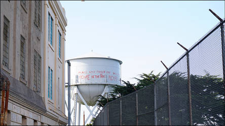 Alcatraz Watertower