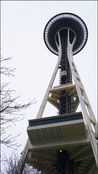 Space Needle - Below