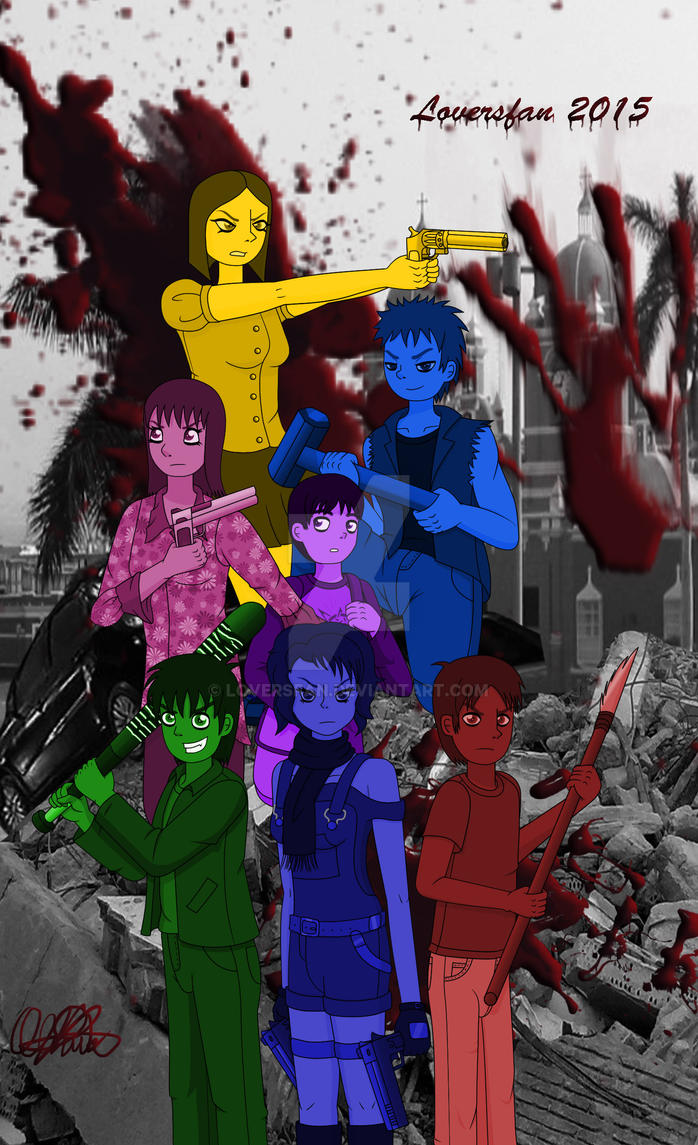 Equipo Zombie 2 Color by Loversfan