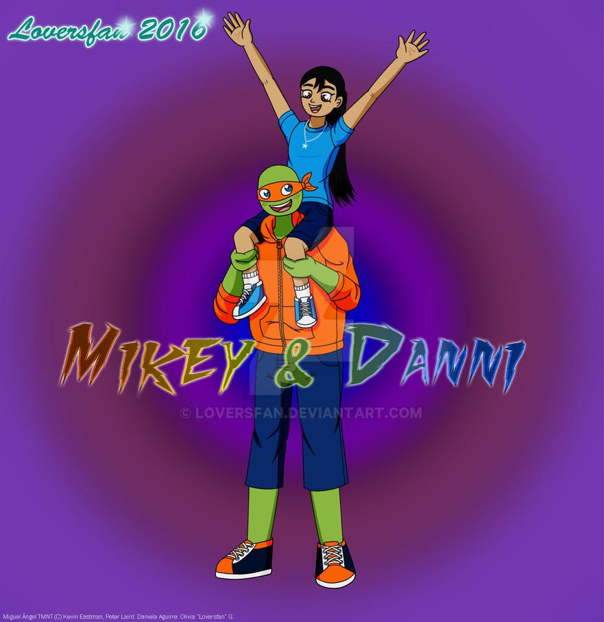 GB - Mikey y Dani by Loversfan