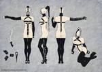 Katrina - T-pose by torzhinskiy