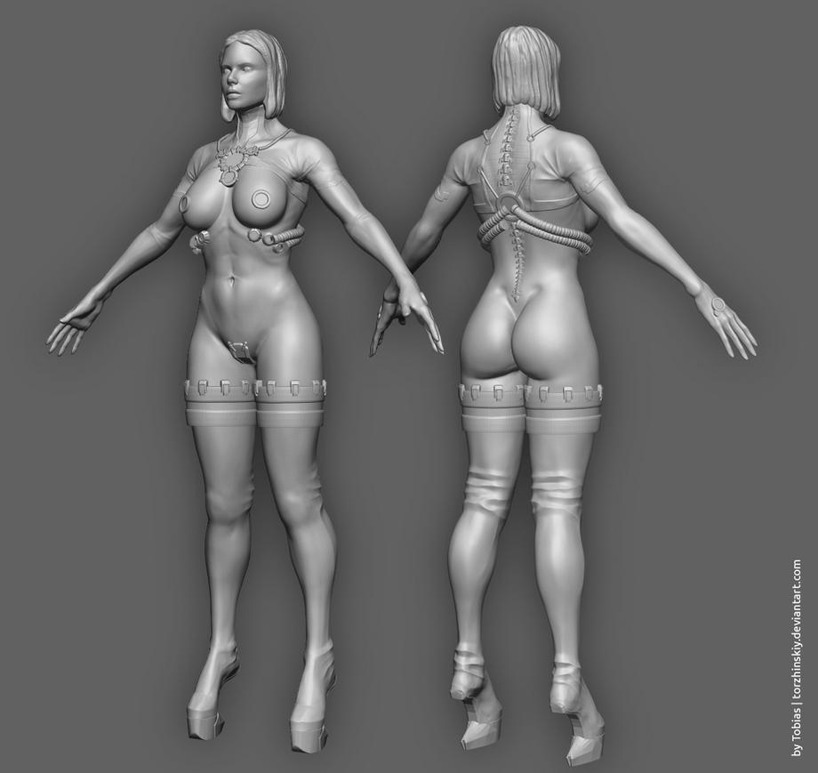 Rakkuel 3D W.I.P by torzhinskiy