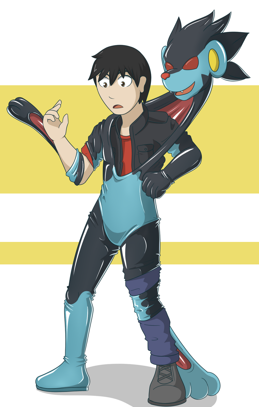 pokemon suit Latex