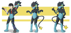 Luxray Suit full sequence by DSAPROX