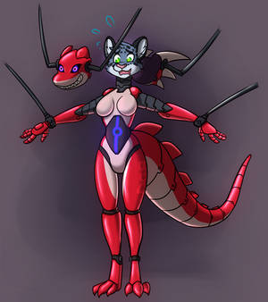 Dragon mech suit