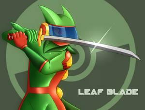 Leaf Blade (Bday pic)