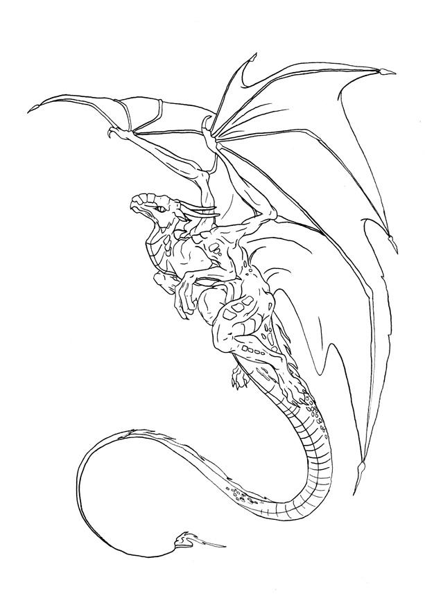 Drawn Scary Dragons Bing Images
