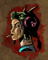 Tank Girl by jamesabels