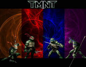 TMNT - Fractal Wallpaper