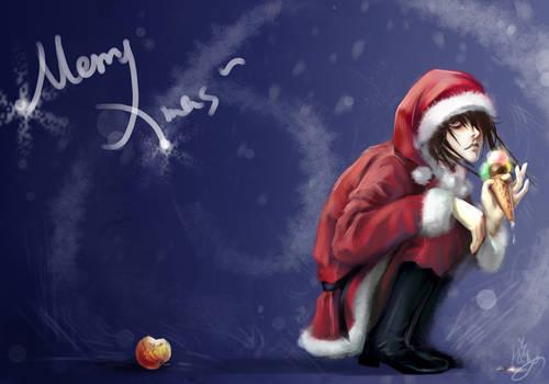 MerryXmas L an apple