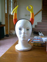 Vriska Horns Homestuck by Lambentworld