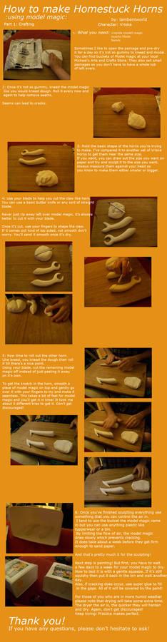 Homestuck Horns Tutorial Part One