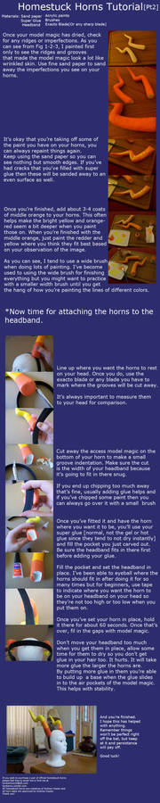 Homestuck Horns Tutorial Part Two