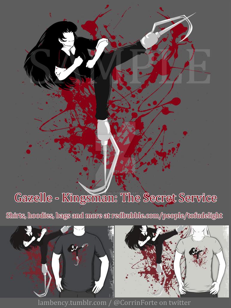 Gazelle  The Kingsman Secret Service by Lambentworld