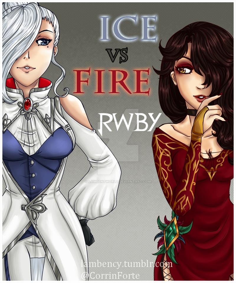 Queens of Ice and Fire by Lambentworld
