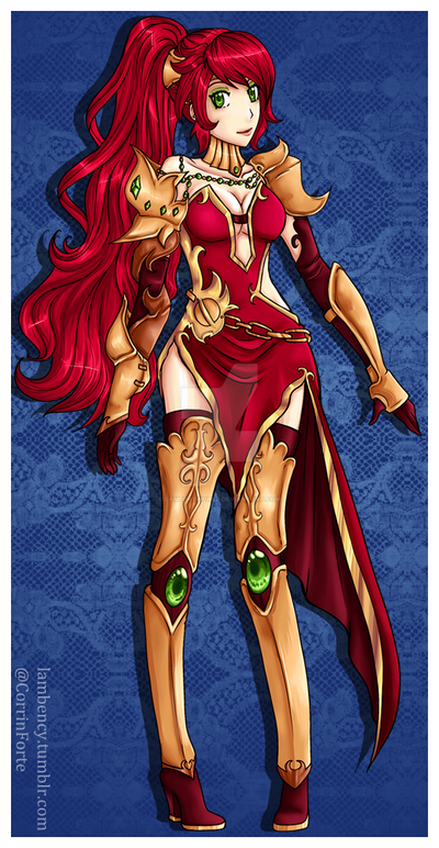 Pyrrha Outfit by Lambentworld