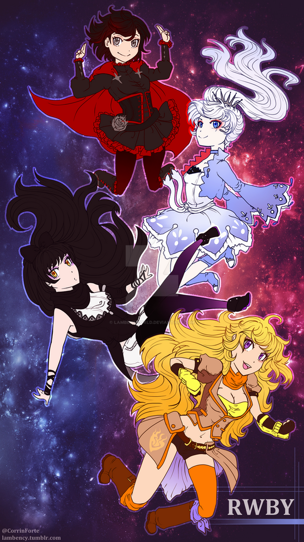 rwby phone wallpaper by lambentworld on deviantart