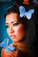 Blue Butterfly by OfficialSerenaStar