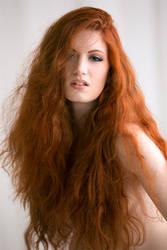 Vivid redhead