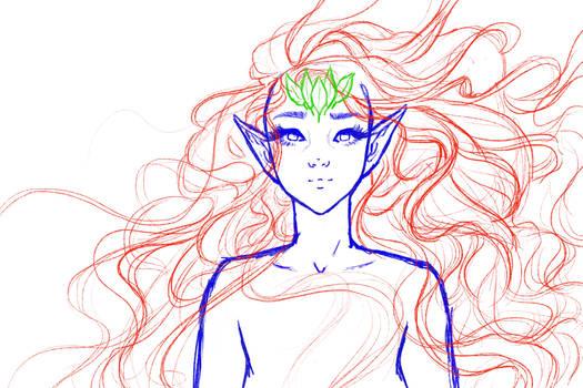 Sixth Age elf Queen WIP